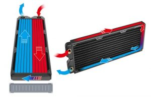 Thermaltake C360 C240 Radiator Cooling