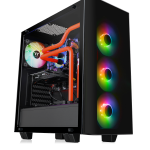 Thermaltake View TG RGB Plus PC Case Built