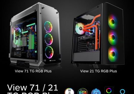 Thermaltake View 71 TG RGB Plus PC Case Featured