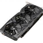ASUS ROG STRIX Radeon RX 590 GPU Top