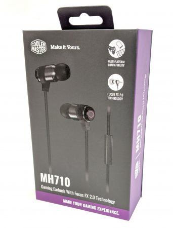 Cooler Master MH710 Earbuds Box Front