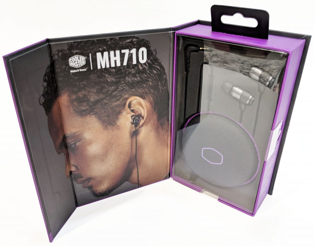 Cooler Master MH710 Earbuds Box Inside