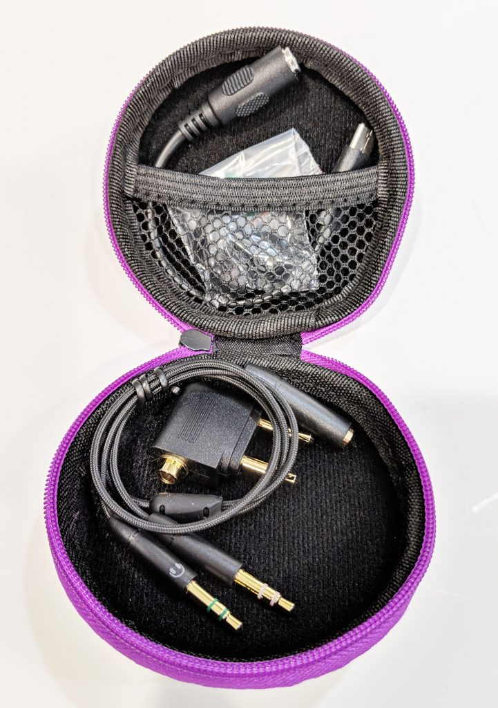 Cooler Master MH710 Earbuds Contents In Case