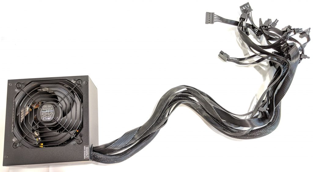Cooler Master MWE Gold 650 PSU Long Cables