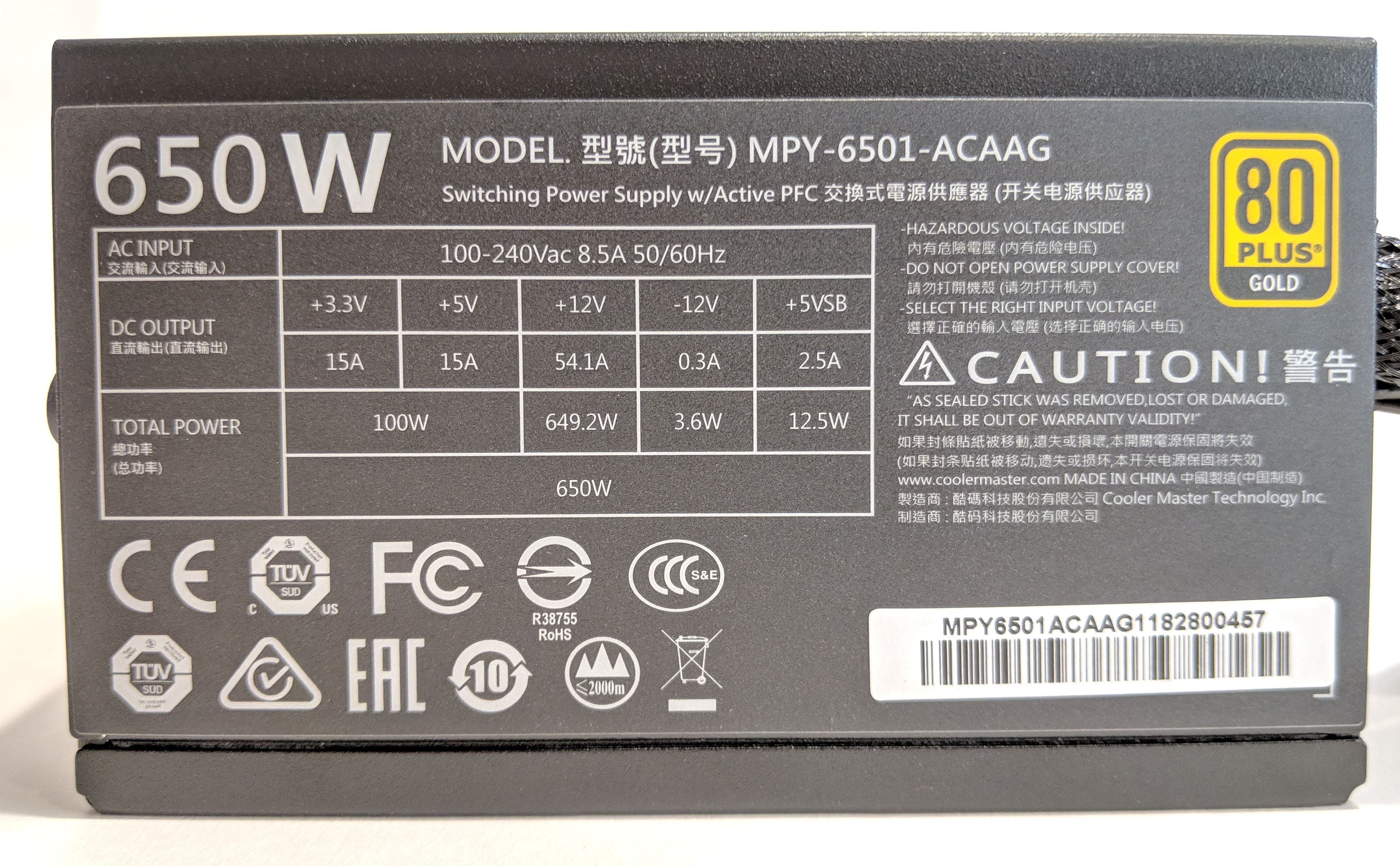 How To Check Power Supply Wattage Without Opening
