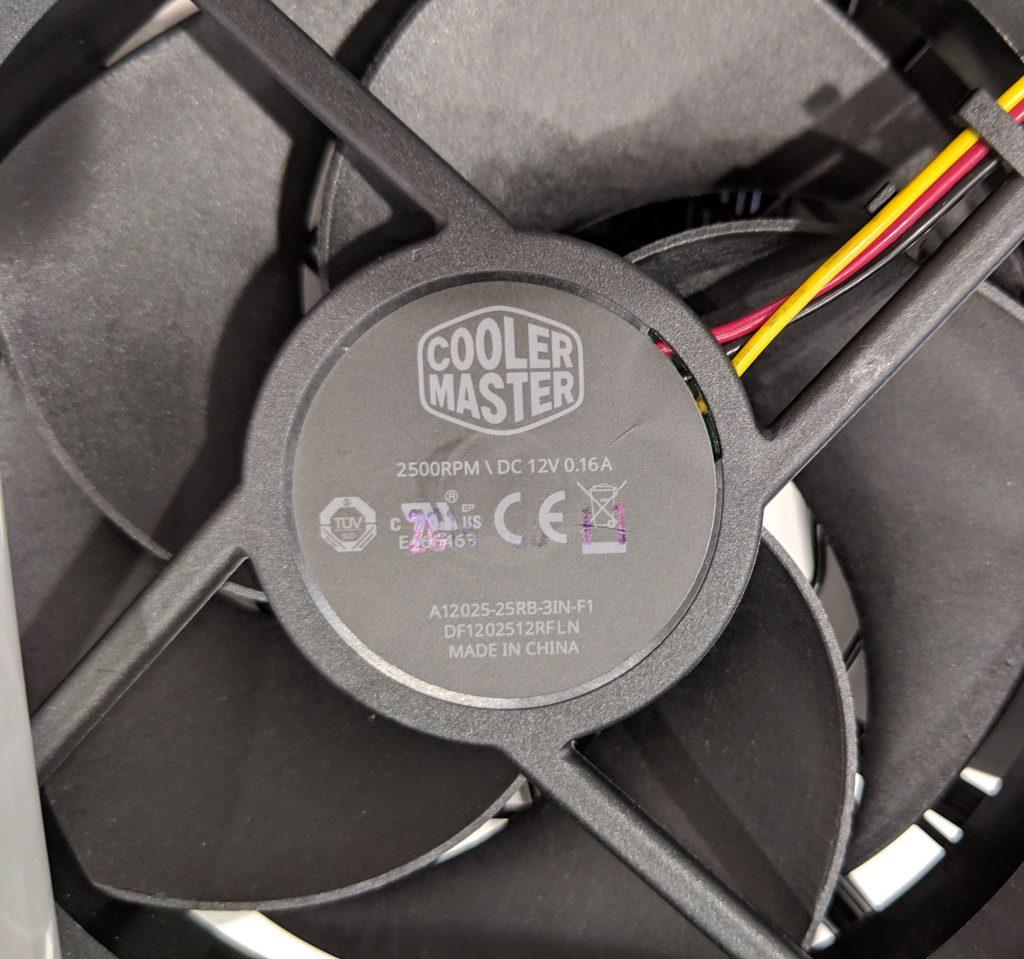 Cooler Master MWE Gold 650 PSU Silencio Fan