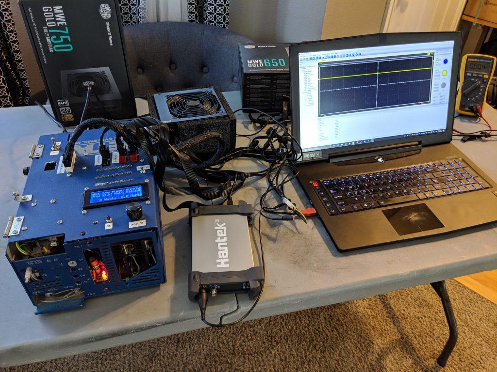 Cooler Master MWE Gold 650 PSU Testing