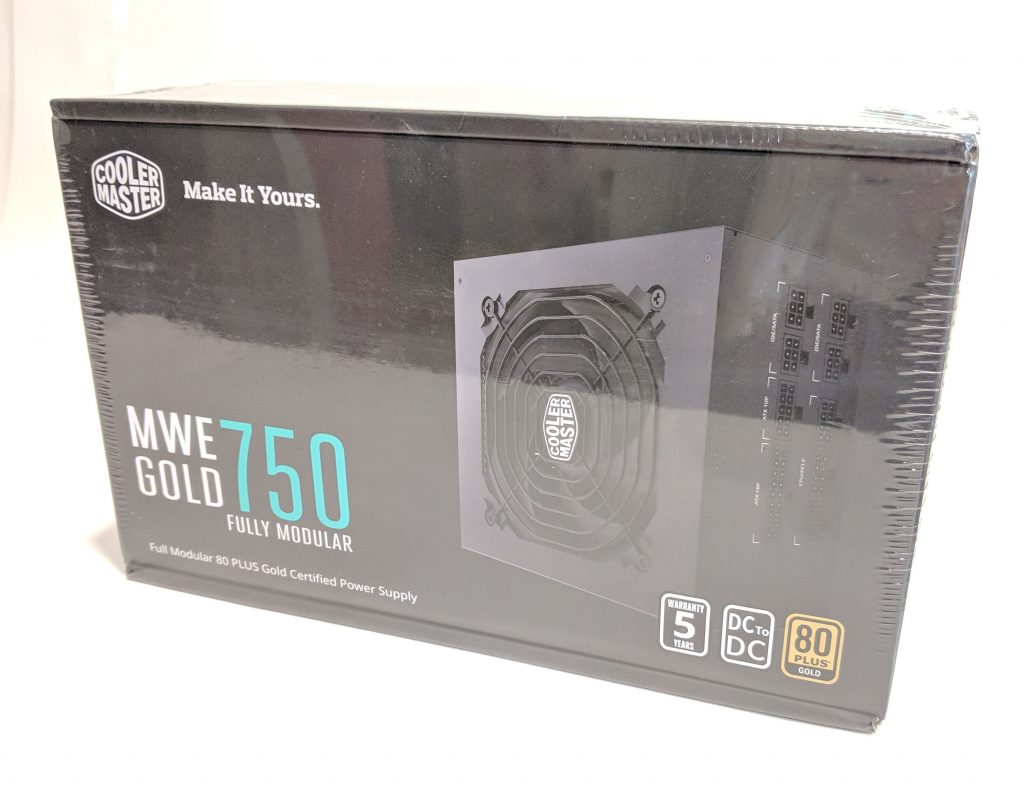 Cooler Master MWE Gold 750 PSU Box