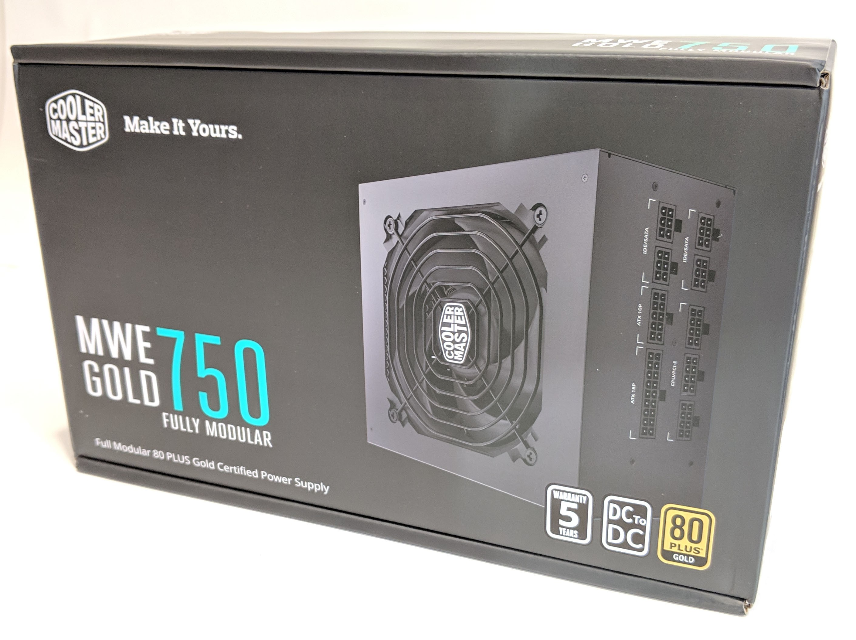 Cooler Master MWE Gold 750 Power Supply Review – GND-Tech