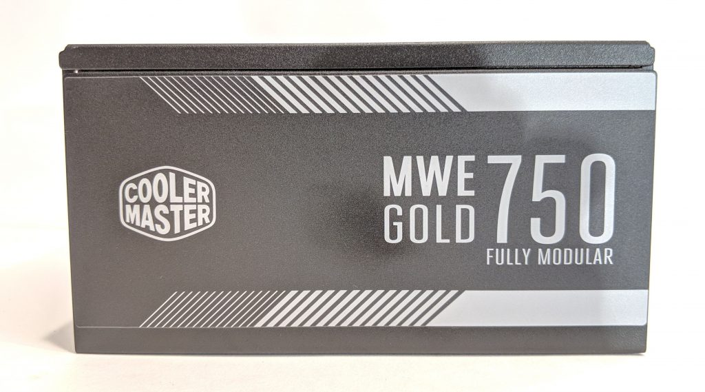 Cooler Master MWE Gold 750 PSU Side