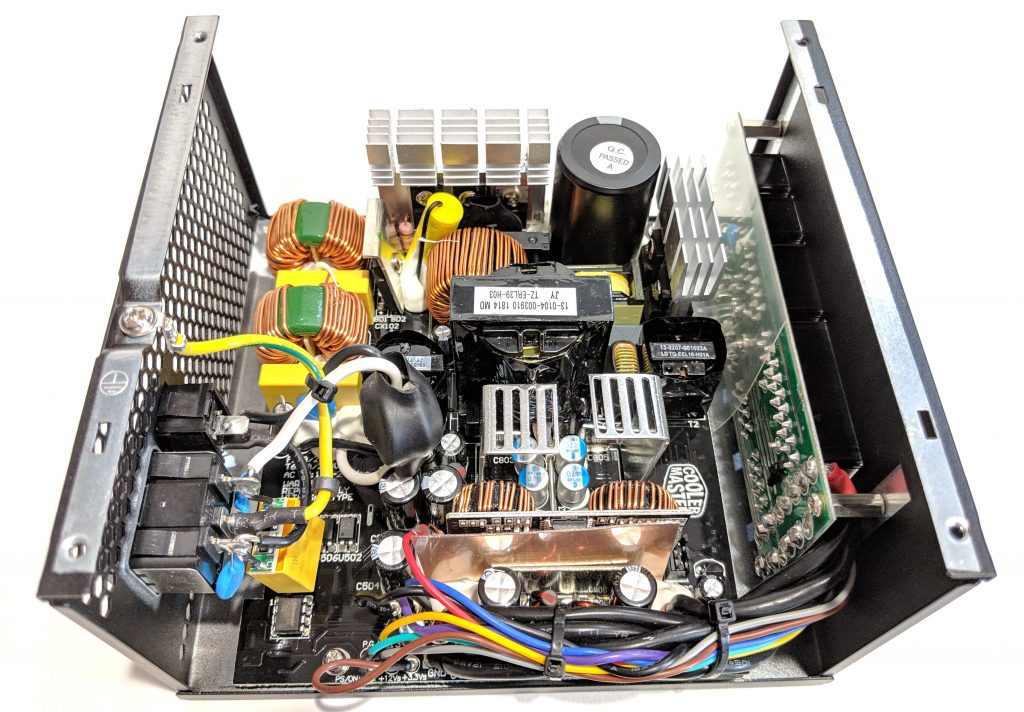 Cooler Master MWE Gold 750 PSU Inside
