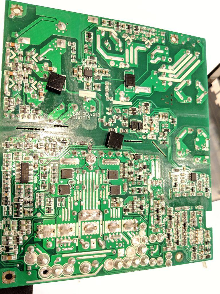 Cooler Master MWE Gold 750 PSU Reverse PCB