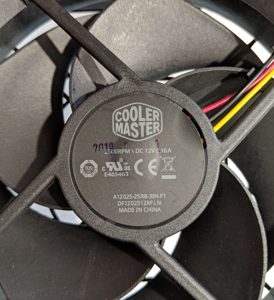 Cooler Master MWE Gold 750 PSU Silencio Fan