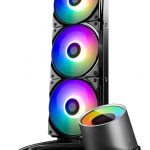 DeepCool Announces GamerStorm Castle 360 RGB CPU Cooler Vertical