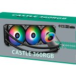 DeepCool Announces GamerStorm Castle 360 RGB CPU CoolerBox