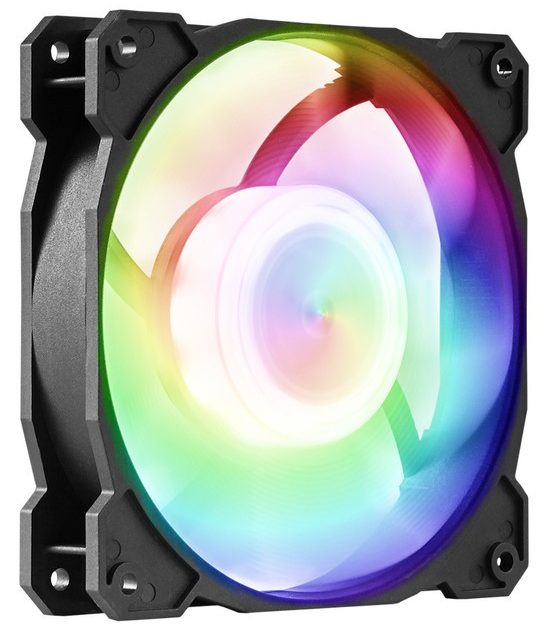 GELID Releases RADIANT and RADIANT-D RGB Fans RGB