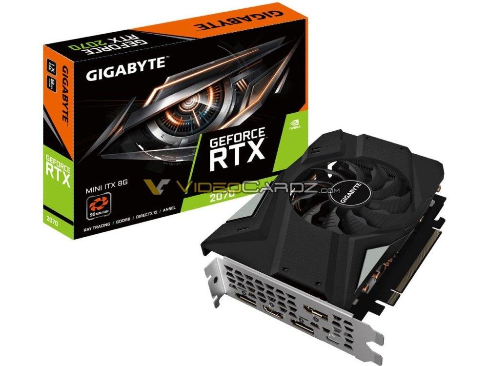 Gigabyte RTX 2070 Mini-ITX Graphics Card