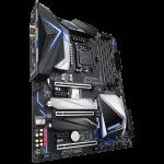 Gigabyte Z390 Designare motherboard Angle