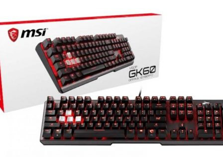 MSI GK60 Gaming Keyboard