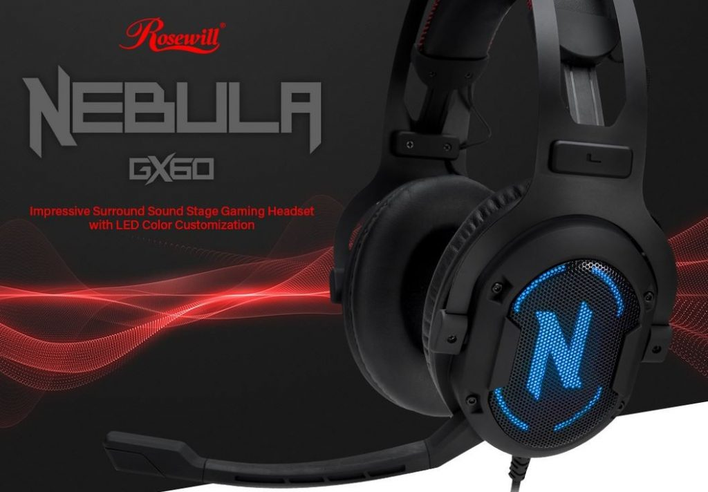 Rosewill Nebula GX60 Gaming Headset Featured