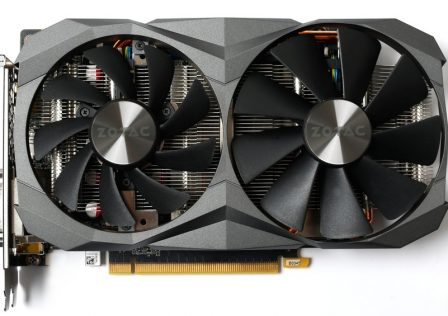 Zotac GTX 1060 6 GB G5X Destroyer Front