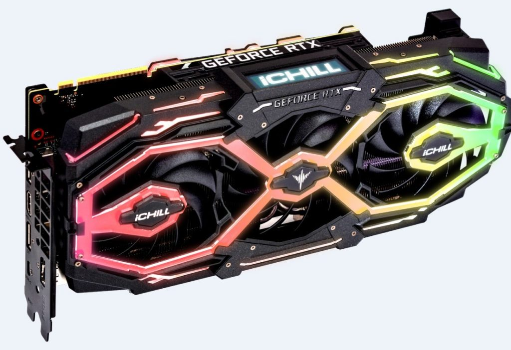 Inno3D CHILL X3 JEKYLL RTX graphics card Front