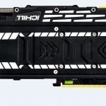 Inno3D CHILL X3 JEKYLL RTX graphics card Back