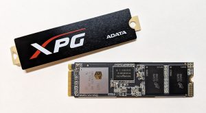 ADATA XPG SX8200 SSD Heatsink