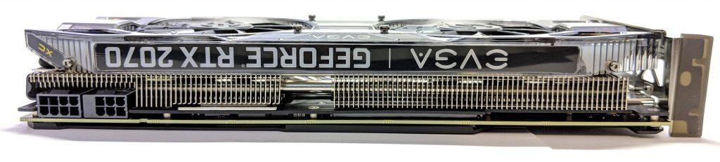EVGA RTX 2070 XC GAMING Top