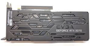 EVGA RTX 2070 XC GAMING Back Backplate