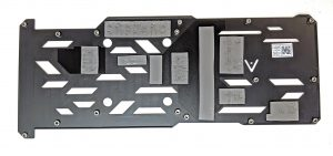 EVGA RTX 2070 XC GAMING Inside Backplate