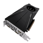 Gigabyte GeForce RTX 2080 Ti TURBO 11G Left Angle