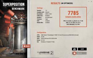 Unigen Superposition Overclock RTX 2070