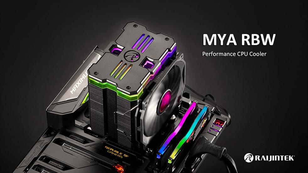 Raijintek MYA RBW CPU Cooler Featured