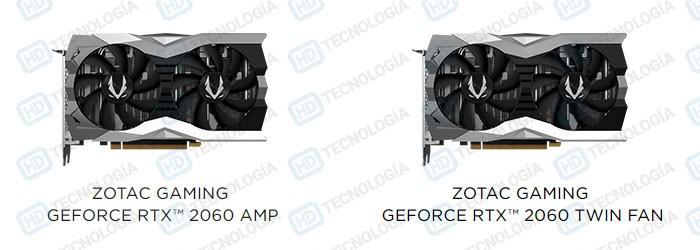 ZOTAC RTX 2060 Compare