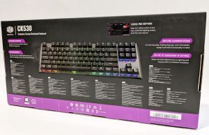 Cooler Master CK530 Keyboard Box Back