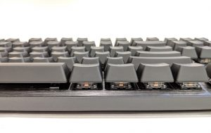 Cooler Master CK530 Keyboard Front Edge