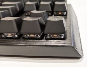 Cooler Master CK530 Keyboard Right Edge