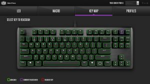 Cooler Master CK530 Software Key Map