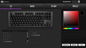 Cooler Master CK530 Software LED Control
