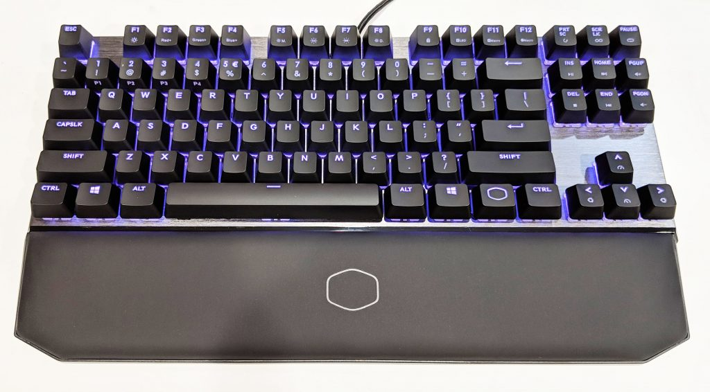 Cooler Master MK730 Tenkeyless Keyboard RGB LEDs On