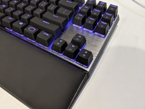 Cooler Master MK730 Tenkeyless Keyboard RGB Left