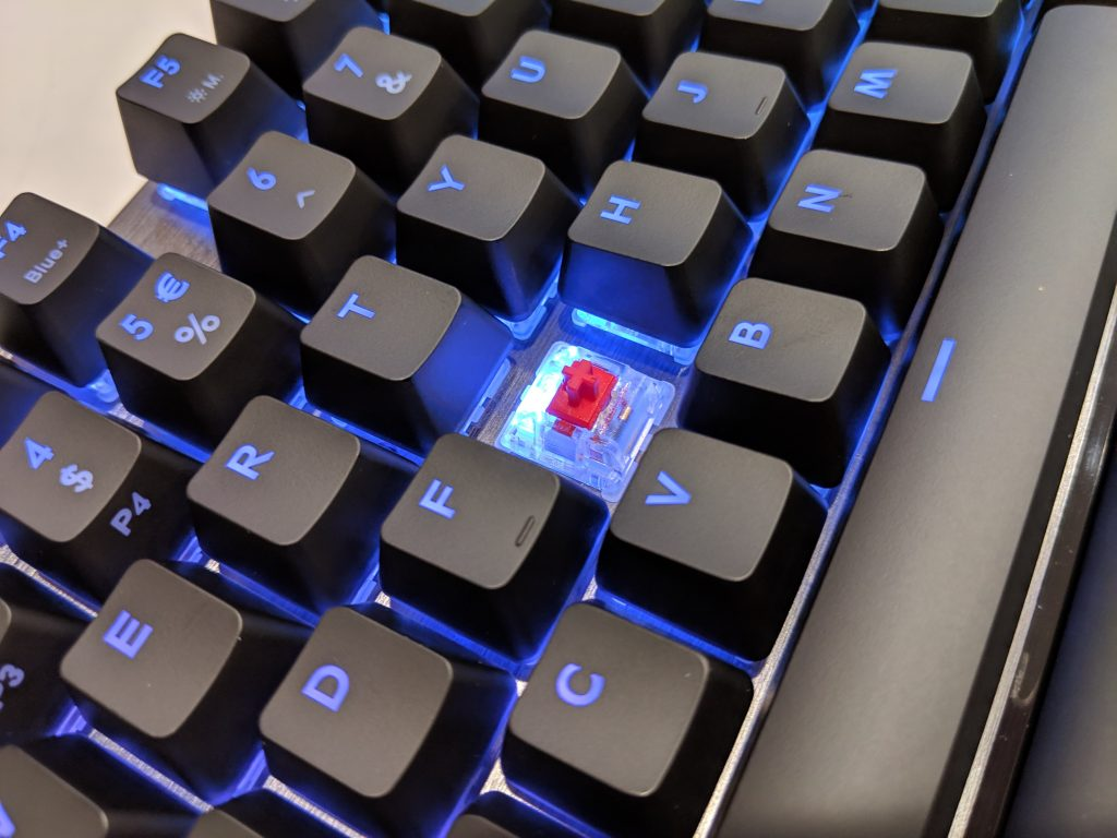 Cooler Master MK730 Tenkeyless Keyboard Cherry MX Red Switch