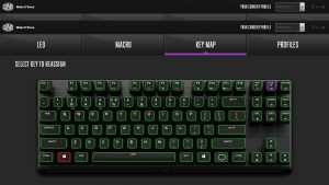 Cooler Master MK730 Tenkeyless Keyboard Software Key Map
