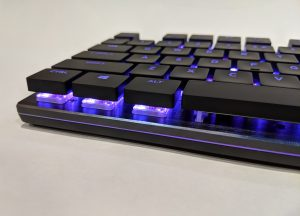 Cooler Master SK650 Keyboard Bottom Left RGB