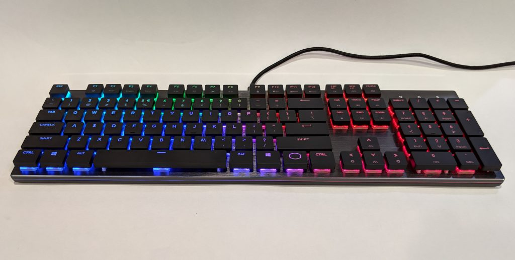 Cooler Master SK650 Keyboard Full RGB