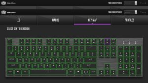 Cooler Master SK650 Keyboard Key Map