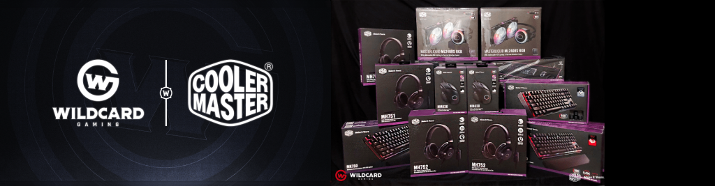 Cooler Master Wildcard Gaming Partnership