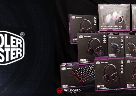 Cooler Master Wildcard Gaming Partnership