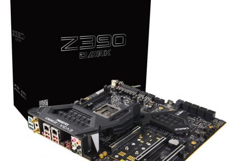 EVGA Z390 Dark Motherboard Featured